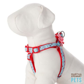 Martha Stewart Pets® Spring Shower Polka Dot Step-In Dog Harness | Harnesses | PetSmart