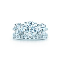 Tiffany & Co. - Round Brilliant Three Stone