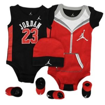 Jordan 5 Piece Infant Jersey Set - Boys' Infant at Kids Foot Locker