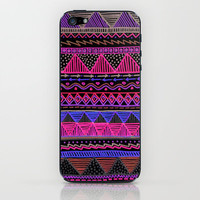 Ocean T Neon iPhone & iPod Skin by Lisa Argyropoulos   Society6