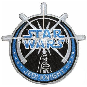 "10 Pieces 4.25"" Star Wars Jedi TV Movie Embroidered Sew On Iron On Patch"
