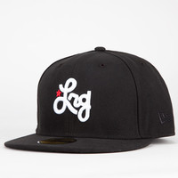 Lrg Cycle Of Life New Era Mens Fitted Hat Black  In Sizes 7