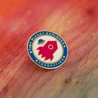 Tiny Planet Explorer Pin