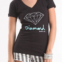 Diamond Supply Co Diamond Black Tee at PacSun.com