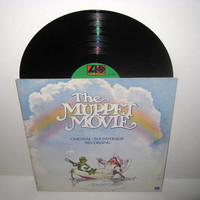 Vinyl Record Album The Muppet Movie Original by JustCoolRecords