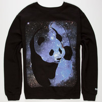 Enjoi Cosmos Panda Mens Sweatshirt Black  In Sizes