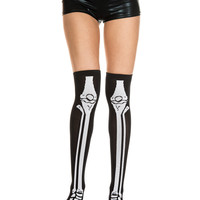 Skeleton Knee Socks – Spirit Halloween