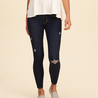 Hollister Low Rise Crop Jean Leggings