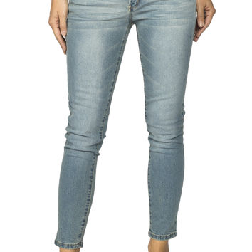 Girls Low Rise Crop Curvy Skinny Jeans - Jordan