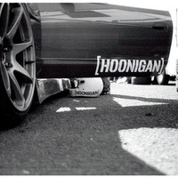 Hoonigan JDM Car Sticker