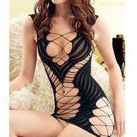 1pcs Women's Sexy Lingerie Hot Bodystocking Sexy Dress Underwear Stocking Sex Products  Erotic Lingerie Sex Toys QQ153