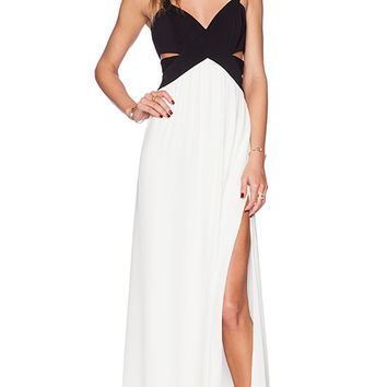 Jay Godfrey Evander Maxi Dress in White