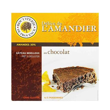 Biscuiterie de Provence Almond Chocolate Cake, Gluten Free, 8.47 oz (240 g)