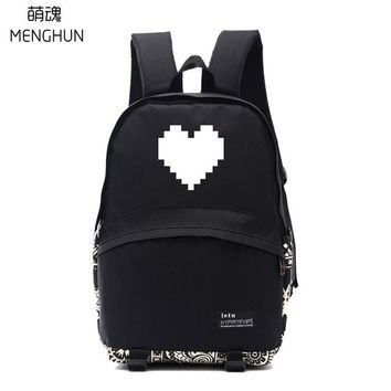 Student Backpack Children lovely game undertale backpacks undertale concept red heart printing school bags gift for students game fans backpack nb223 AT_49_3