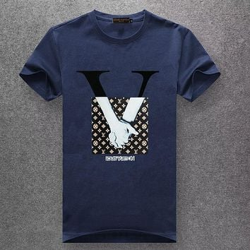 Boys & Men Louis Vuitton Fashion Casual Shirt Top Tee