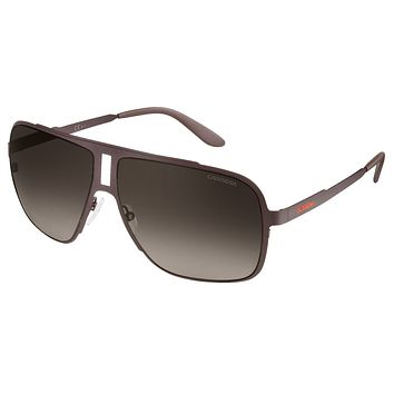 Carrera 121/S Brown Charcoal Sunglasses, Brown Gradient Lenses