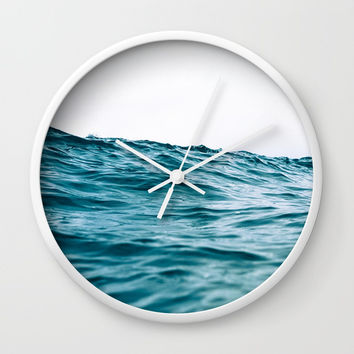 Lost My Heart To The Ocean Wall Clock by StayWild