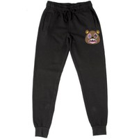 CRAZY BAWS Black French Terry Joggers