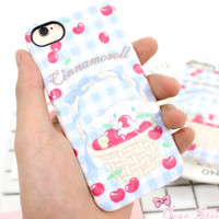 New Fashion cute dog animal Plastic Case Cover iPhone7 7plus 6 Plus 6-05005