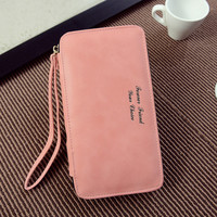 Autumn Wallet Korean Bags Simple Design Alphabet Ladies Purse [6048289985]