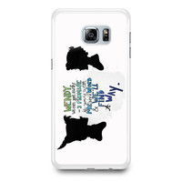 Peter Pan Wendy Quotes Samsung Galaxy S6 Edge Plus Case