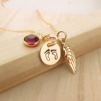 Shop miscarriage babies on wanelo baby memorial necklace loss of a child miscarriage infant still birth death aloadofball Choice Image