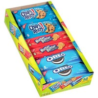 Nabisco Chips Ahoy!/Nutter Butter/Oreo Cookies Variety Pack, 12 count, 23.4 oz - Walmart.com
