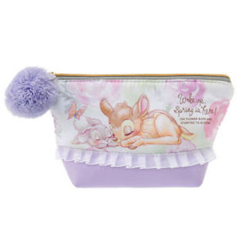Bambi & Thumper Pouch SPRING FOREST ❤ Disney Store Japan