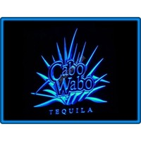 Cabo Wabo Tequila Bar Pub Restaurant Neon Light Sign