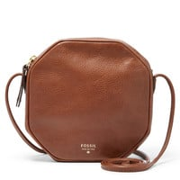 Jules Octagon Leather Crossbody