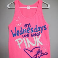 Mean Girls - On Wednesdays We Wear Pink Tank Top (XS-XL)