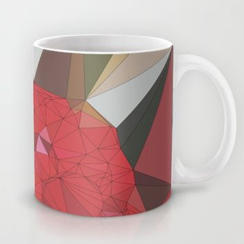 Ruby Red Rose Mug by Ducky B