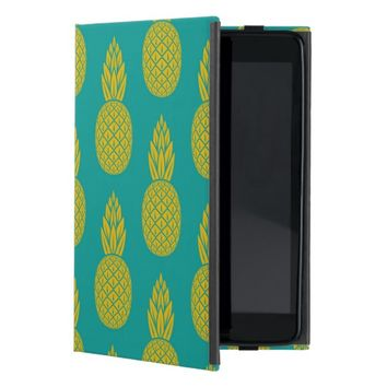 Tropical Hawaiian Pineapple Pattern iPad Mini Case