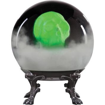 Crystal Ball with Phantom Skull Halloween Decoration - Walmart.com