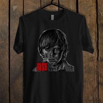 Chandler Riggs Carl Grimes The Walking Dead T Shirt Mens T Shirt and Womens T Shirt *