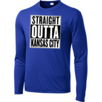 KC is the Undisputed Champ! Doesn't get any better than that... Long Sleeve Moisture Absorbing Shirt