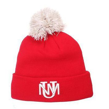 Licensed New Mexico Lobos Official NCAA Pom Adjustable Beanie Knit Sock Hat by Zephyr KO_19_1
