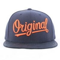 KR3W, Original 4 Snap-Back Hat - Navy - Snap-back Hats - MOOSE Limited
