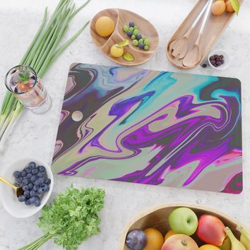 Tear Blinded Eyes Cutting Board by duckyb