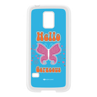 Sassy - Hello Gorgeous 10433 White Silicon Rubber Case for Galaxy S5 Mini by Sassy Slang