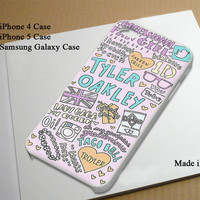 Tyler Oakley Collage Best Seller Phone Case on Etsy for iPhone 4, iPhone 4s, iPhone 5 , Samsung Galaxy s3 and Samsung Galaxy s4