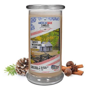 Smoky Mountains Cabin | American Made Candle®