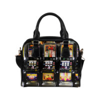 Lucky Slot Machines - Dream Machines Shoulder Handbag (Model 1634) | ID: D361993