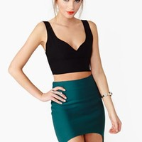 Night Heat Crop Tank