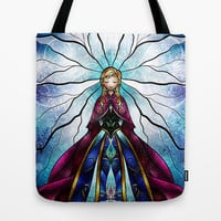 The Little Sister Tote Bag by Mandie Manzano