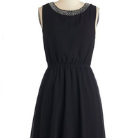 ModCloth LBD Mid-length Sleeveless A-line Dramatic Opening Night Dress