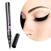1 pcs Black Waterproof Eyeliner Liquid Eye Liner Pen Pencil  Cosmetic Gift Maquillaje