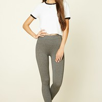Heathered Knit Leggings