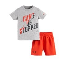Under Armour Boys' Infant UA Can't Be Stopped 2-Piece Set