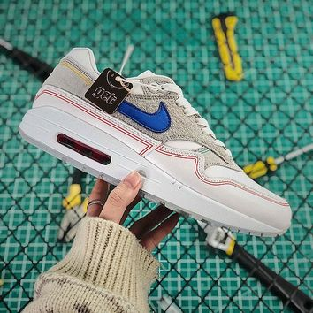 Nike Air Max 1 Pompidou Center Day Sport Shoes - Best Online Sale
